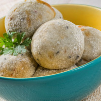 Pãozinho de Batata Doce Orgânica FIT Funcional - Vegano/Vegetariano