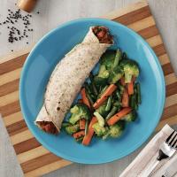 Crepe de Carne de Panela com Mix de Legumes na Wok I