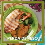 Perda de Peso 700 Kcal 5 Dias Completos (R$14,20 por Refeição)