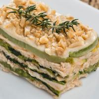 Torta Hiperproteica de Frango com Abobrinha