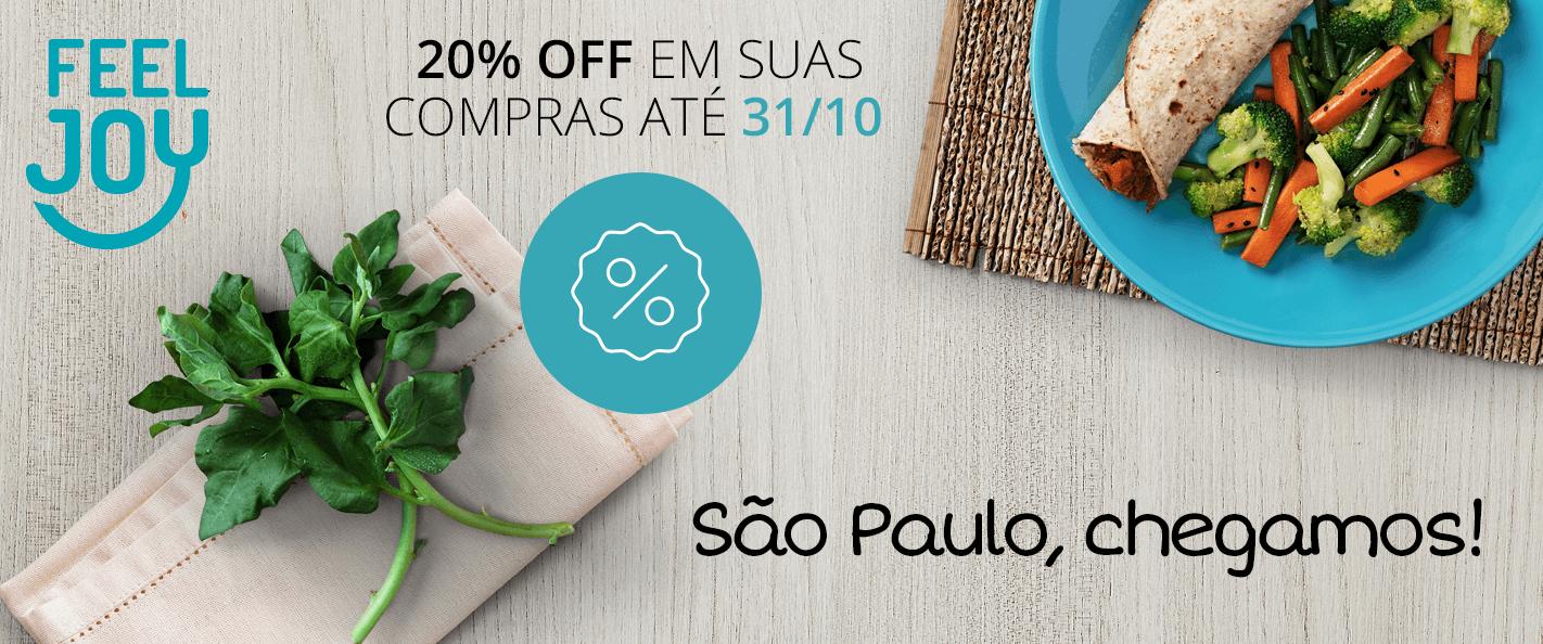 Chegamos em São Paulo!